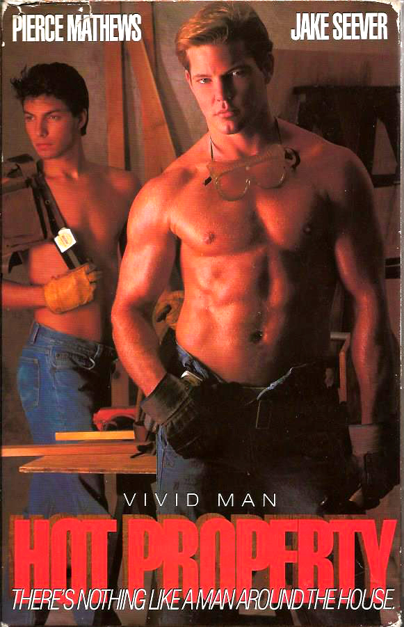 Vintage VHS Tape: HOT PROPERTY - by Vivid Man