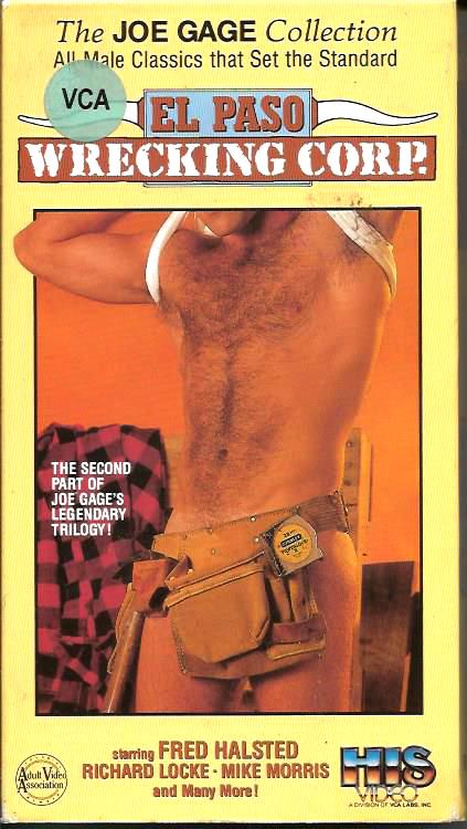 Vintage VHS Tape: JOE GAGE - EL PASO - WRECKING CORP