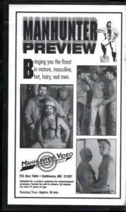 Vintage VHS Tape: MANHUNTER PREVIEW
