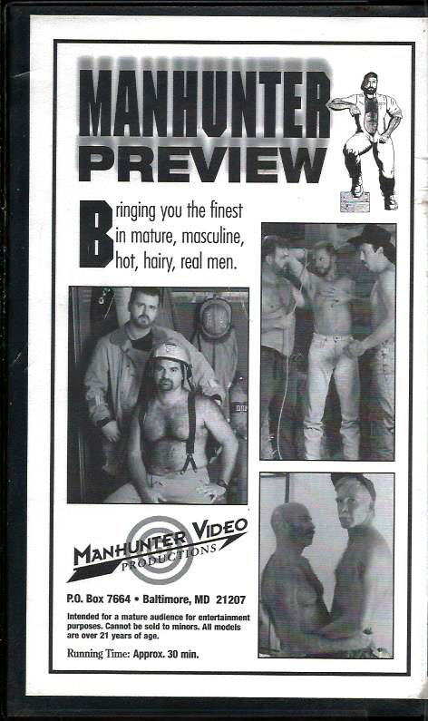 Vintage VHS Tape: MANHUNTER PREVIEW