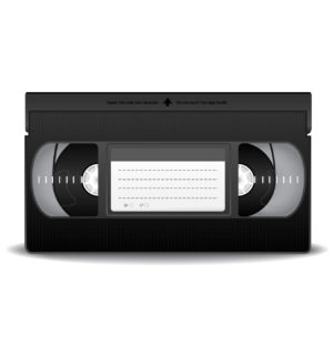 Gay adult video movie on VHS tape