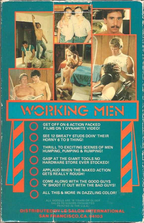 Vintage VHS Tape: WORKING MEN