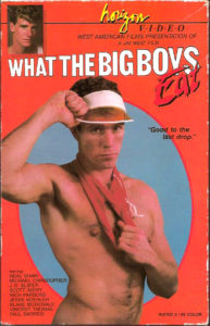 Vintage VHS Tape: WHAT THE BIG BOYS EAT