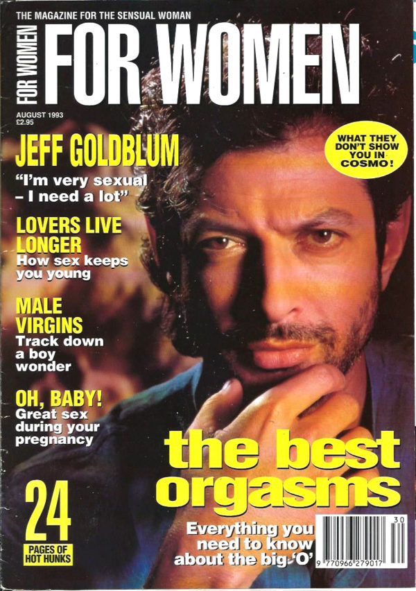 FOR WOMEN Magazine ( August 1993 ) The Magazine for the Sensual Woman