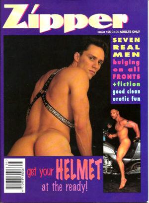 ZIPPER Magazine ( Issue 105) Gay Adult Magazine