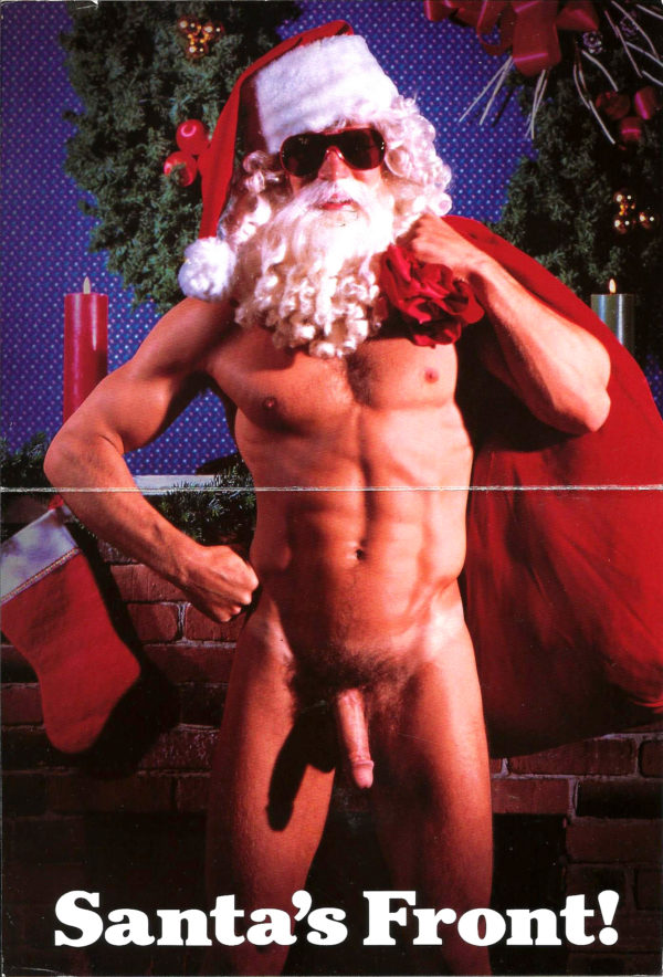 SANTAS BACK - Greeting Card