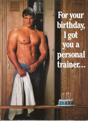 PERSONAL TRAINER - Birthday Card
