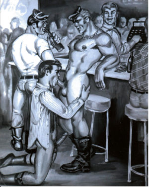 "Etienne - Another Please - Print 10x8"" Tom of Finland"