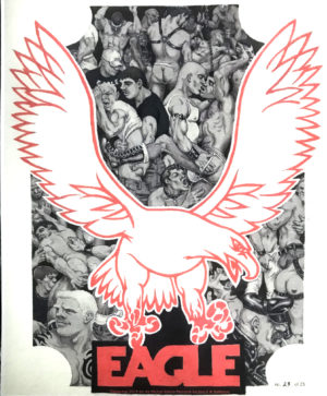 """THE EAGLE by Michael Kierland - limited Signed Rare Lithograph 14x11"""""""