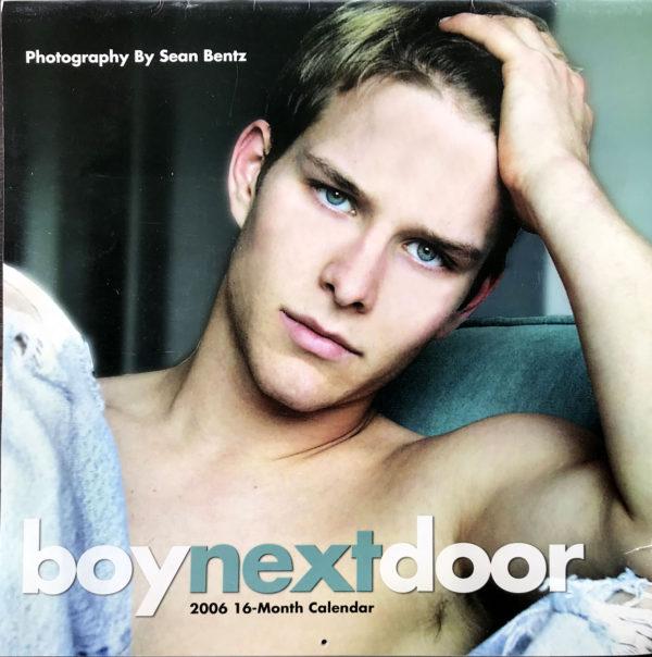 Boy Next Door (Male Nudes) 2006 - 16 Month Calendar by Sean Bentz