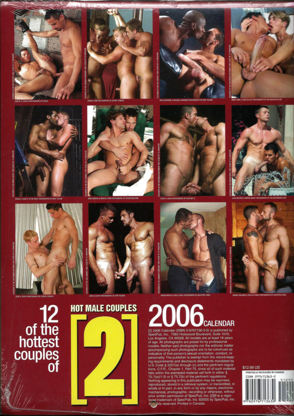 HOT MALE COUPLES [2] 2006 Calendar