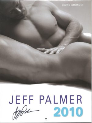 "RARE Jeff Palmer  11 x 8 inch ""2010 Calendar"". One of the more celebrated, truly fine art photographers in the industry, showcases a way with the lens that is classic, transcending time and trend. This calendar is for the avid jock lover! Condition: Excellent Paperback: Flip-Calendar Publisher: Jeff Palmer Title: Jeff Palmer 2010 Calendar"