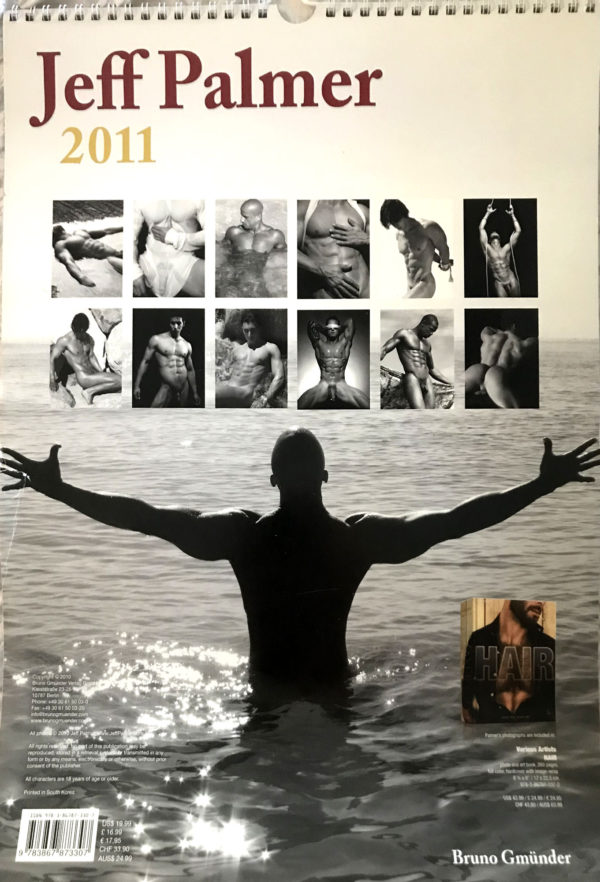 """RARE 16.5 x 12 inch """"Jeff Palmer 2011"""" Calendar. One of the more celebrated, truly fine art photographers in the industry, Palmer has a way with the lens that is classic, transcending time and trend."""