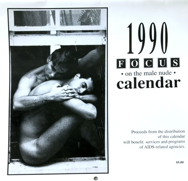 Jeff Palmer FOCUS on the male nude 1990 Calendar