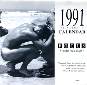 Jeff Palmer FOCUS on the male nude 1991 Calendar