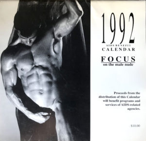 Jeff Palmer FOCUS on the male nude 1992 Calendar