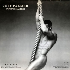 Jeff Palmer FOCUS on the male nude 1996 Calendar