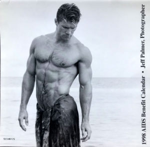 Jeff Palmer FOCUS on the male nude 1998 Calendar