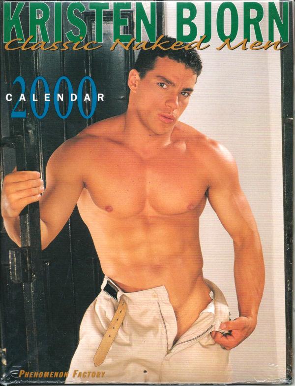 KRISTEN BJORN Classic Naked Men 2000 Calendar
