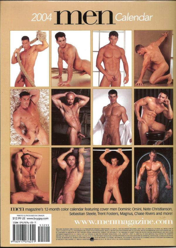 MEN 2004 Calendar