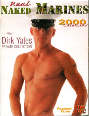 Real NAKED MARINES 2000 Calendar