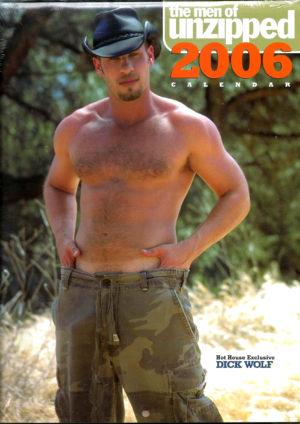 The Men of UNZIPPED 2006 Calendar