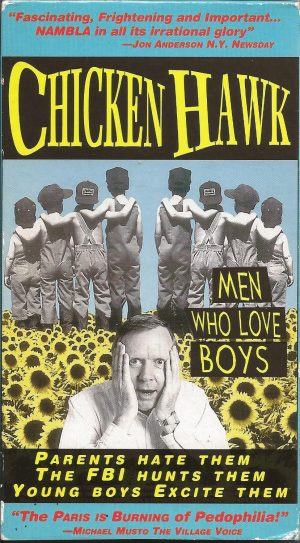 Vintage VHS Tape: CHICKEN HAWK: MEN WHO LOVE BOYS