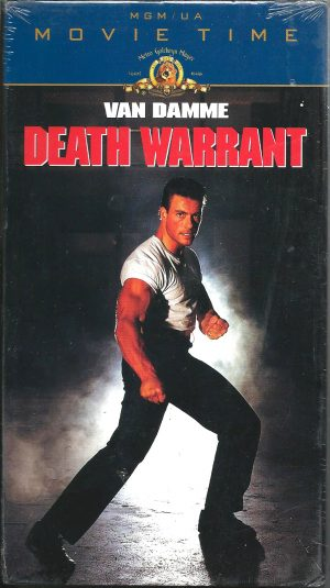 Vintage VHS Tape: DEATH WARRANT