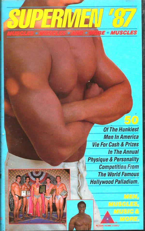 Vintage VHS Tape: SUPERMEN 87