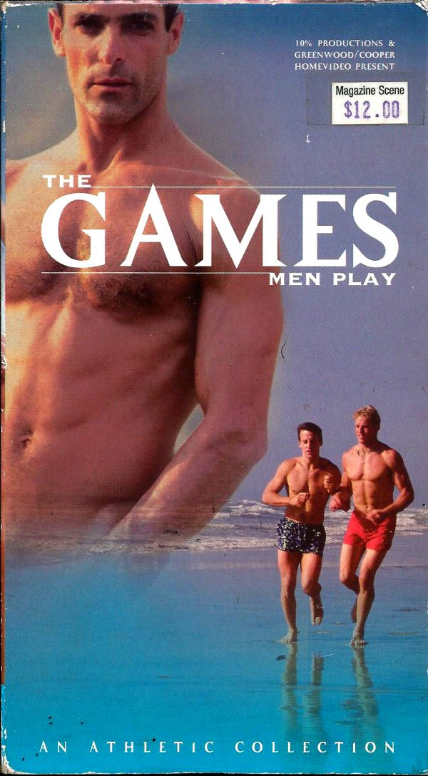 Vintage VHS Tape: THE GAMES MEN PLAY