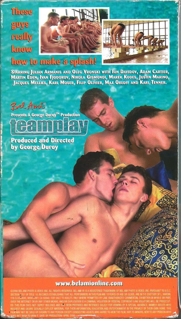 Vintage VHS Tape: TEAMPLAY