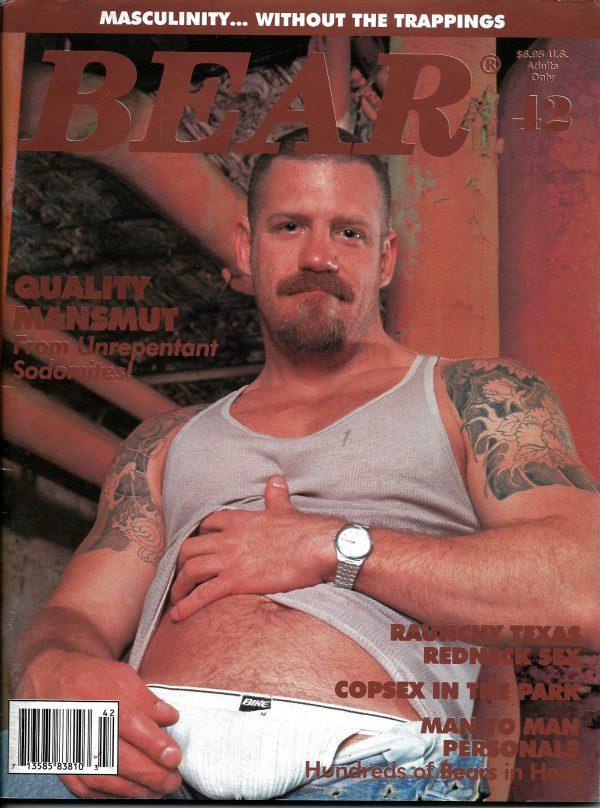 BEAR Magazine (Issue 42) Gay Male Digest Magazine