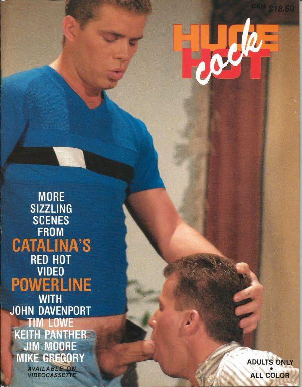 Catalina Video Presents - HUGE HOT COCK - Gay Full Color Illustrated Photo Magazine