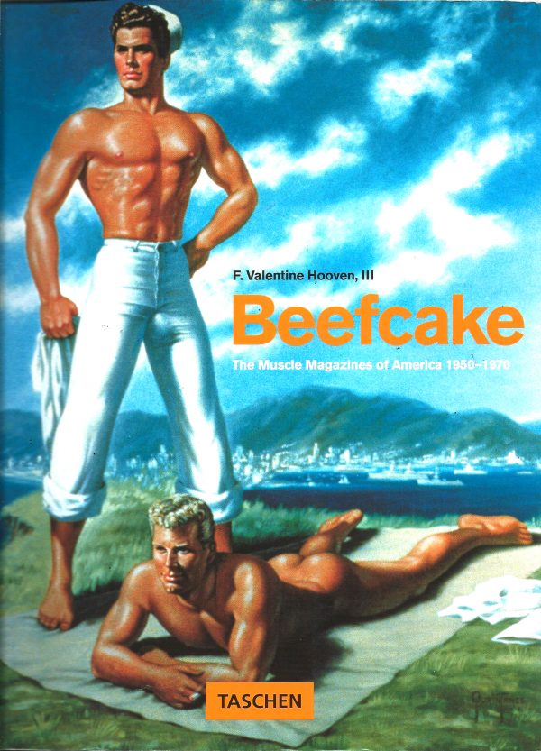 BEEFCAKE, The Muscle Magazine of America, 1950-1970, F Valentine Hooven III, Book, Rare Book, Gay History, Illustrations, Drawings, Erotic Art, LGBT, Gay,