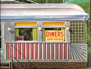 DINERS by John Baeder, Diners, Photography, Illustractions, Restaurants, American Diners, John Baeder,