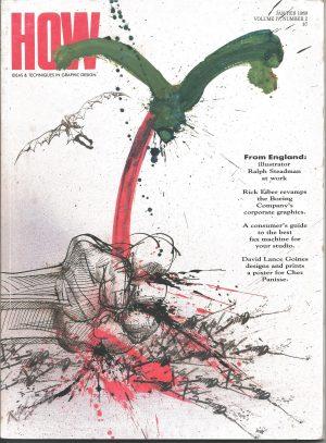 HOW Magazine, Ideas, Technique, Graphic Design, Volume 4, Number 2, January/February, 1989,