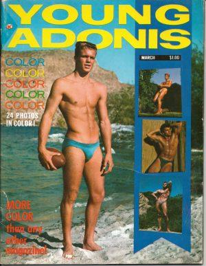 Rare Vintage YOUNG ADONIS: No. 1, 1963 Magazine