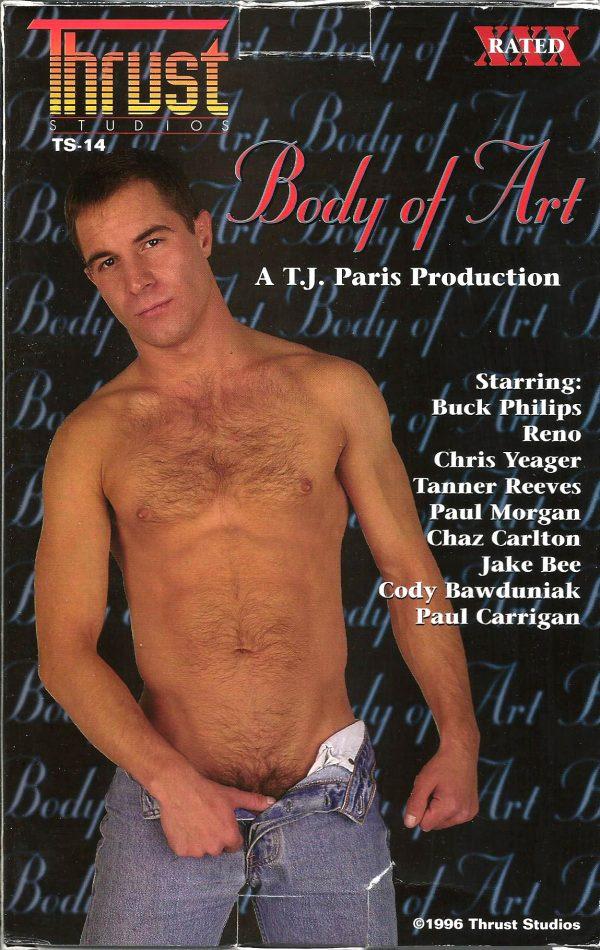 Vintage VHS Tape: BODY OF ART
