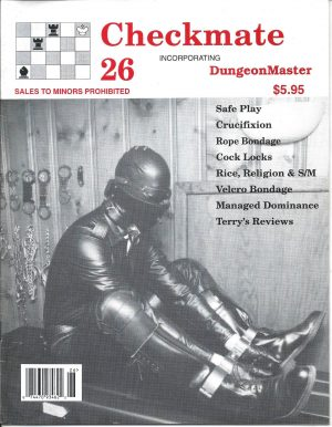 CHECKMATE 26 Gay Magazine Incorporating - Dungeon Master - February 1999