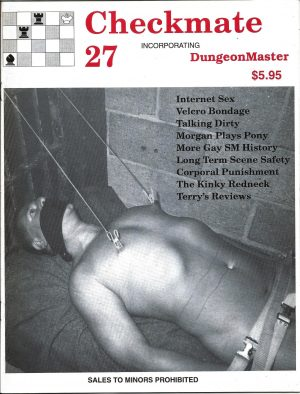 CHECKMATE 27 Gay Magazine Incorporating - Dungeon Master - May 1999