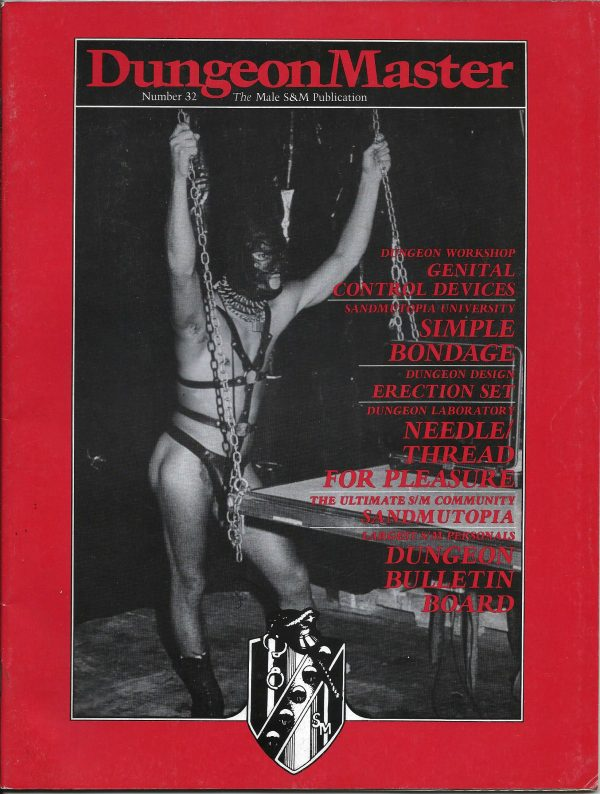 DUNGEON MASTER - The Male SM Publication - Number 32