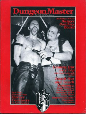 DUNGEON MASTER - The Male SM Publication - Number 36