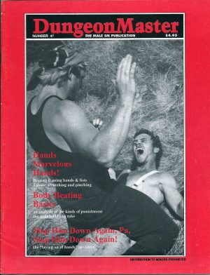 DUNGEON MASTER - The Male SM Publication - Number 47
