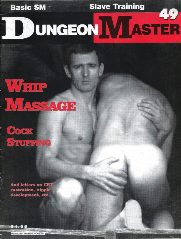 DUNGEON MASTER - The Male SM Publication - Number 49
