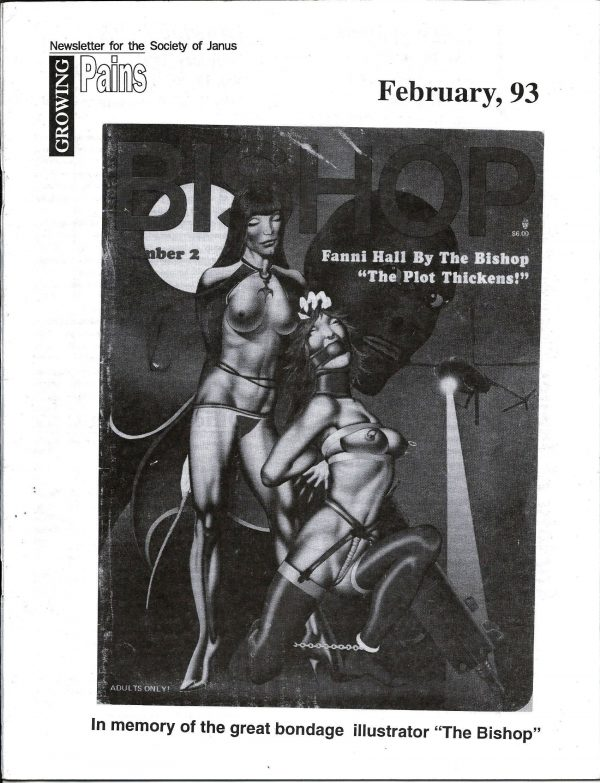 GROWING PAINS for the Society of Janus - February 1993