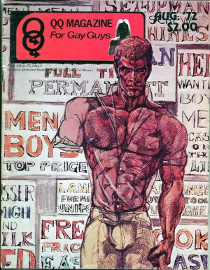 QQ Magazine (Queens Quarterly) August 1972 - For Gay Guys