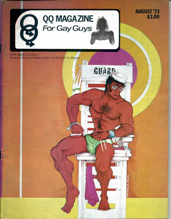 QQ Magazine (Queens Quarterly) August 1973 - For Gay Guys