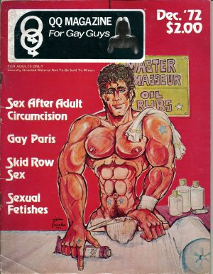 QQ Magazine (Queens Quarterly) December 1972 - For Gay Guys
