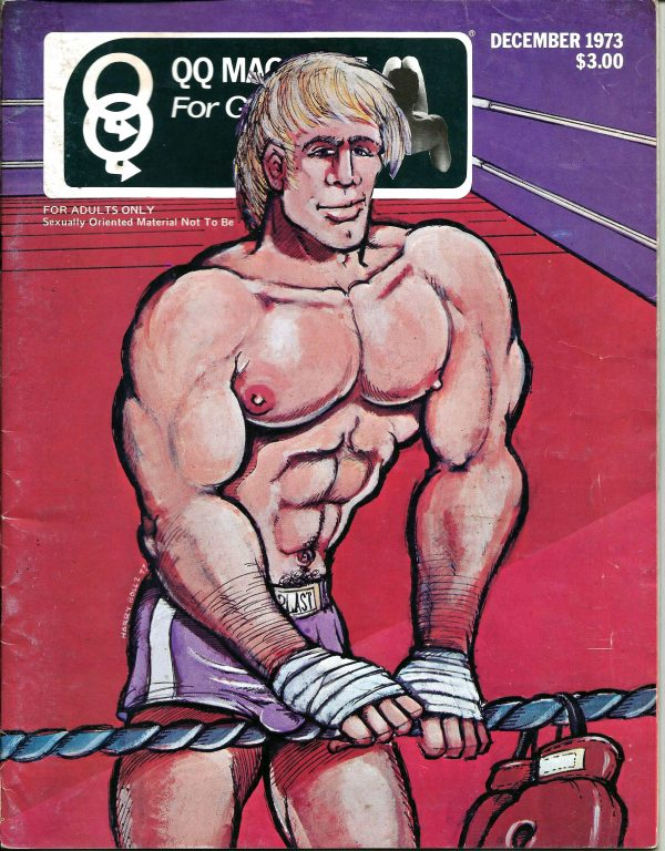 QQ Magazine (Queens Quarterly) December 1973 - For Gay Guys