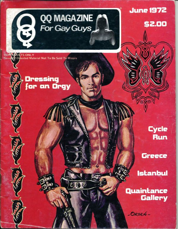 QQ Magazine (Queens Quarterly) June 1972 - For Gay Guys